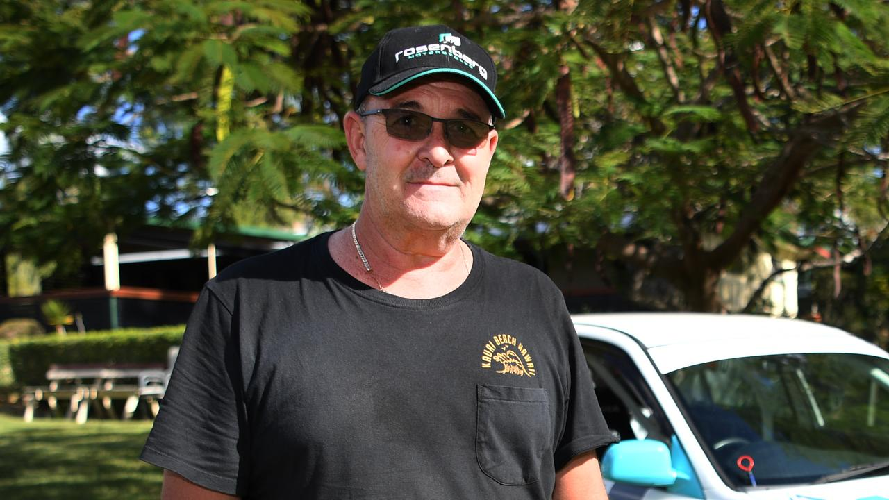 Wayne Rosenberg is keen for competition after making his race debut in the CQ Crane Hire Gold Rush Hill Sprint in 2019.
