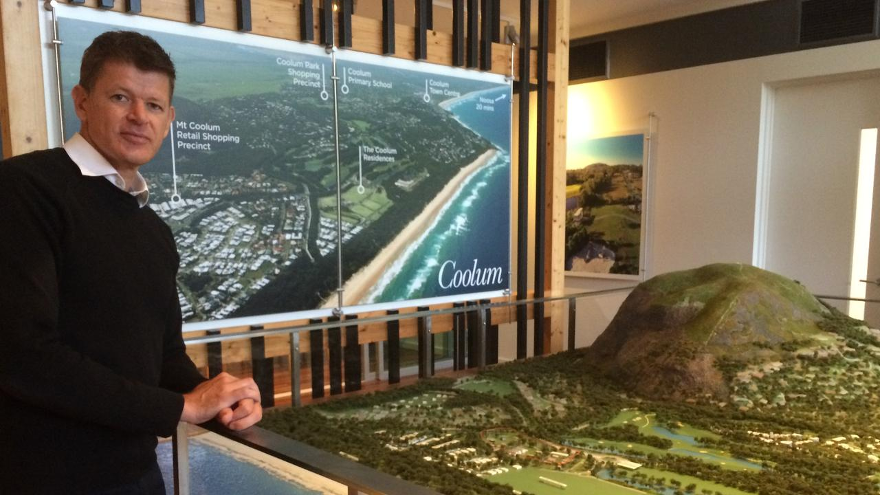 Sekisui House's Yaroomba Beach project director Evan Aldridge.