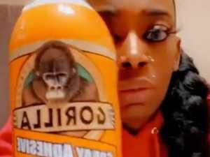 'Gorilla Glue girl' finally gets hair unstuck