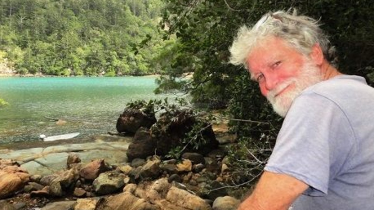 Missing yachtie Andrew Heard remains missing off Hinchinbrook Island.