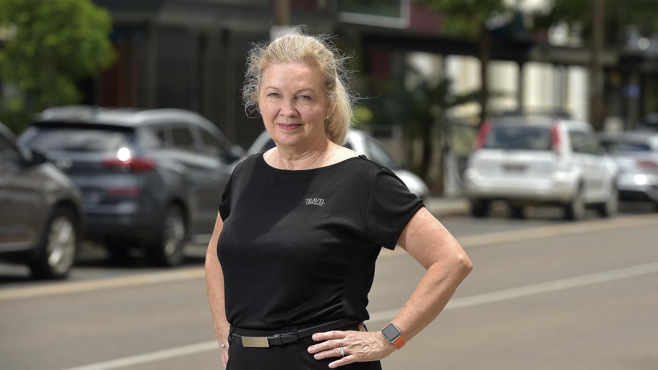 Travel Associates owner Debbie Rains. Picture: Matt Taylor.