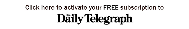 Daily Telegraph SignUp