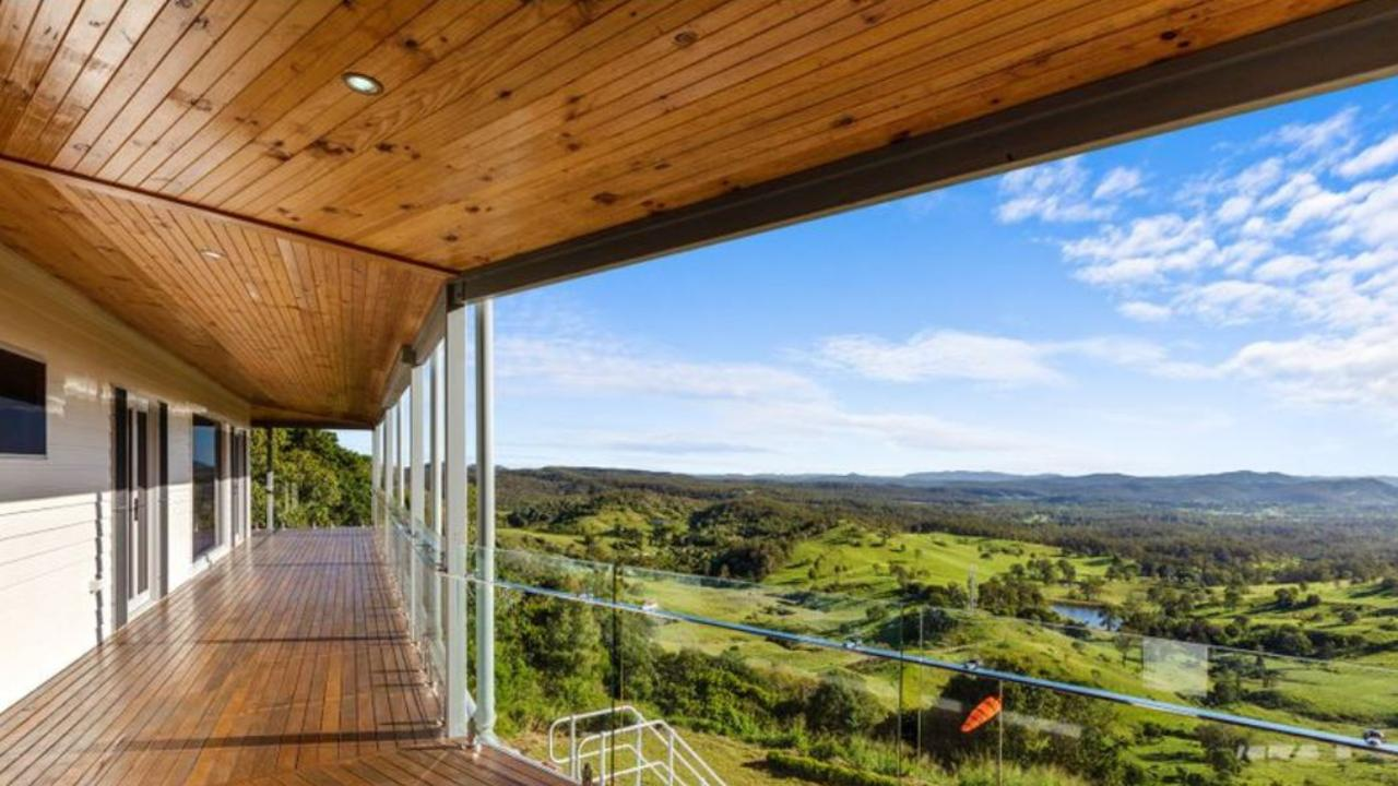 Laguna Real Estate may have found the most spectacular home on offer in the Gympie region – this 34 hectare property at Scrubby Creek.