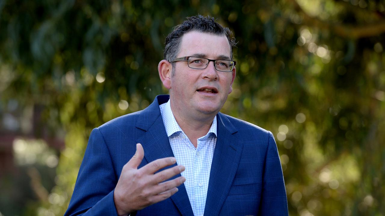 Victorian Premier Daniel Andrews has ordered another lockdown in Melbourne following a coronavirus outbreak in the city. Picture: NCA NewsWire / Andrew Henshaw