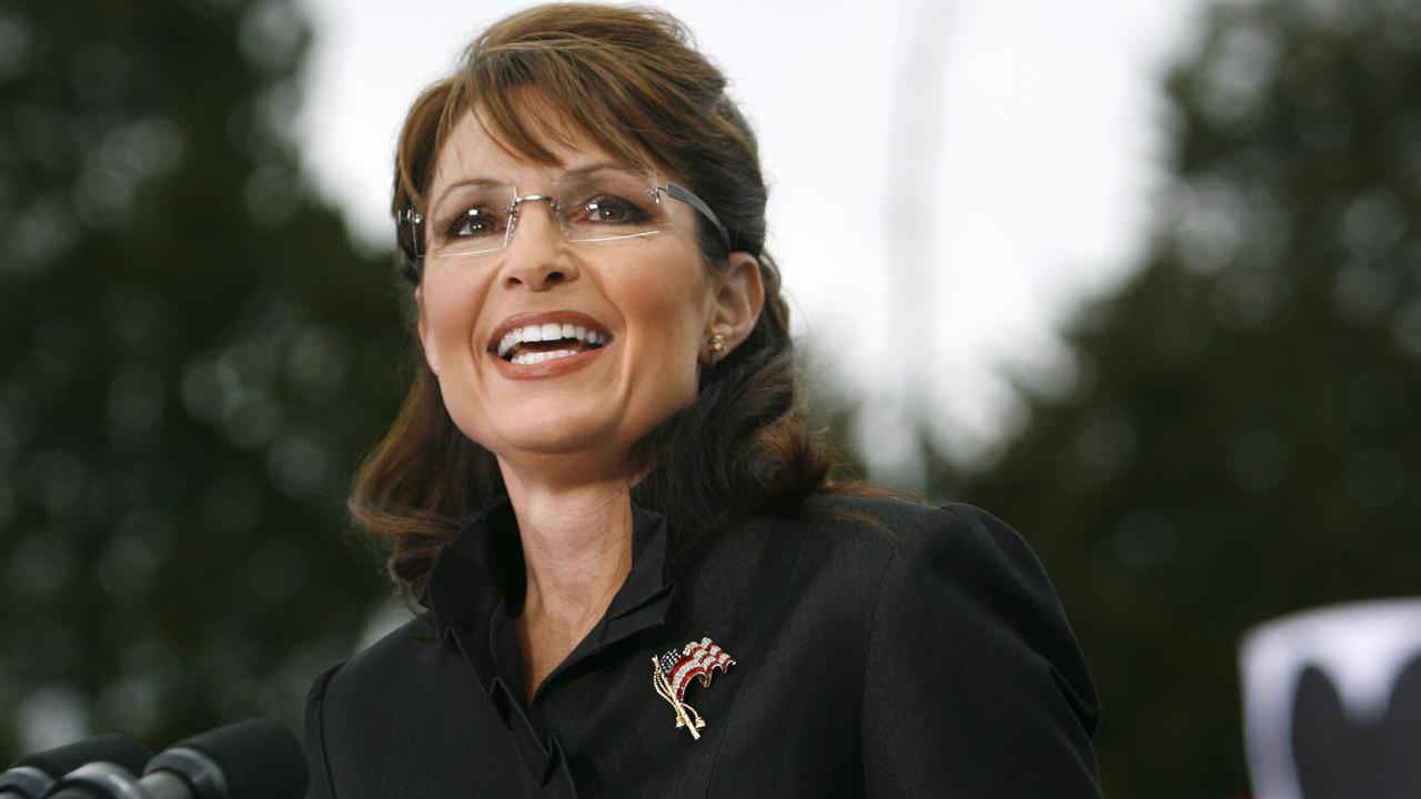 Former Republican US vice presidential candidate Sarah Palin doesn't have the mainstream following she once did.