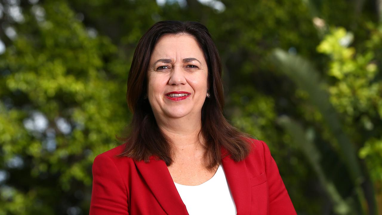 Premier Annastacia Palaszczuk speaks exclusively to Courier-Mail. Pics Adam Head