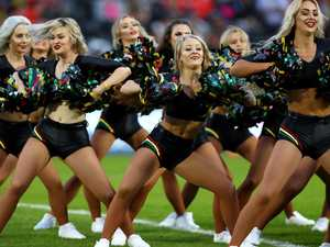 NRL cheerleaders hit back: 'You're demeaning women'