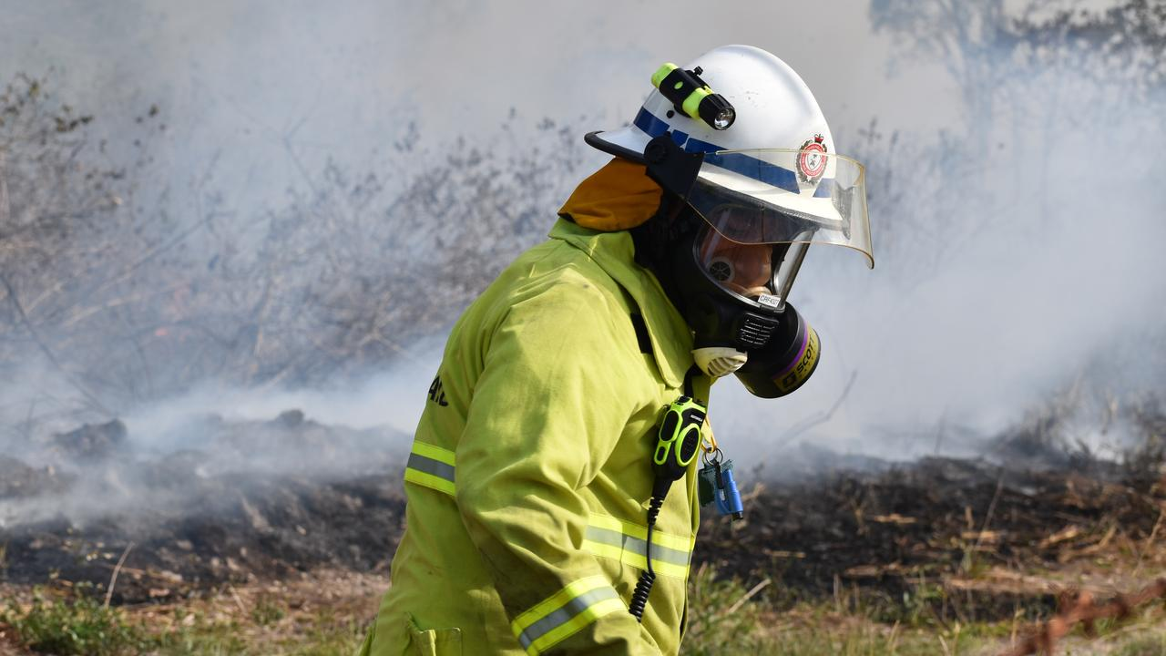 Queensland Fire and Emergency Services and a Rural Fire Service crew extinguished a shed fire early on Sunday morning. Picture: Zizi Averill/file.