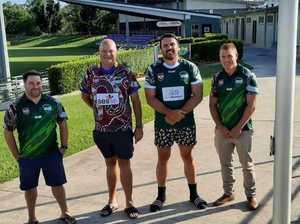Symbolic jerseys, mateship to boost pride at gala footy