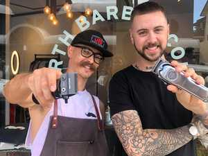 Barbers join forces to open Coast's new shop