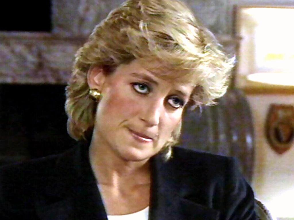 Princess Diana's revelations in the Bashir interview were a bombshell for the royal family. Picture: BBC/Panorama