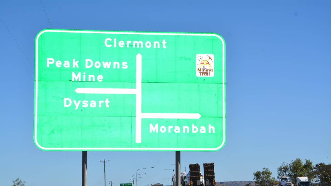 The Peak Downs Highway upgrades north of Clermont will improve safety for all motorists. Picture: Tara Miko