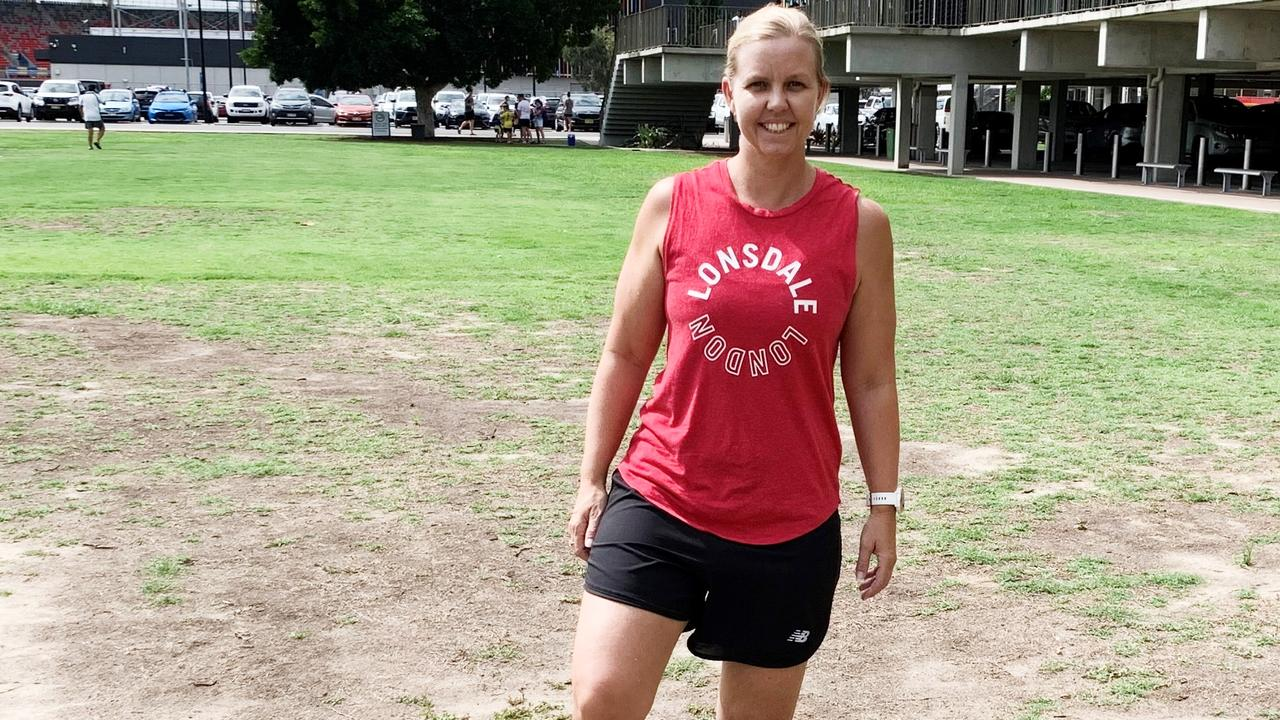 KICKING ON: After going through the eight-week Kick On For Women soccer clinic in 2019, Tina Schilling, 41, said she hoped to join a Lismore-based club.