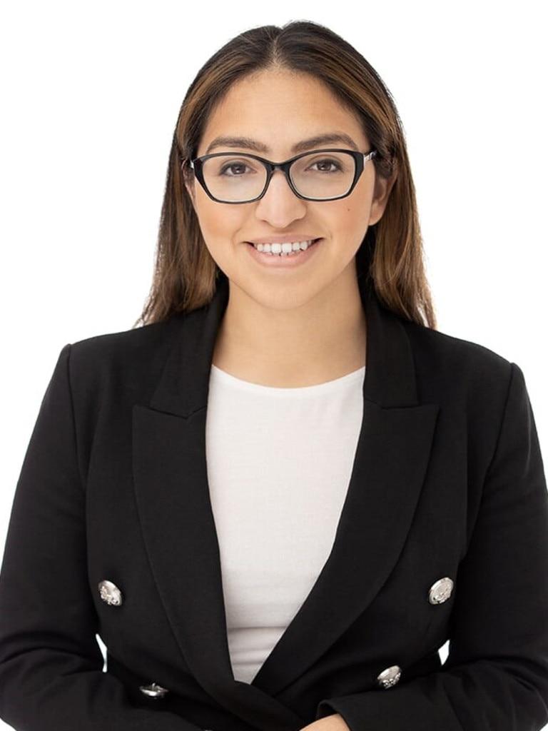 Kingsley Lawson lawyer Maria Aravena. Source: Supplied