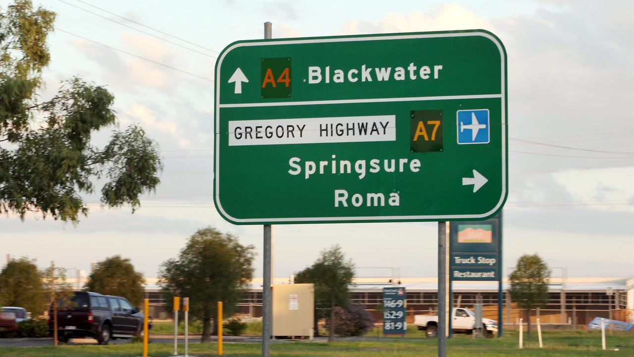 Road sign on the Gregory Highway. Photographer: Jodie Richter.