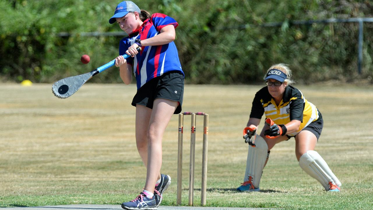 Sports naturally talented batter Yasmin Leeder. Picture: Rob Williams