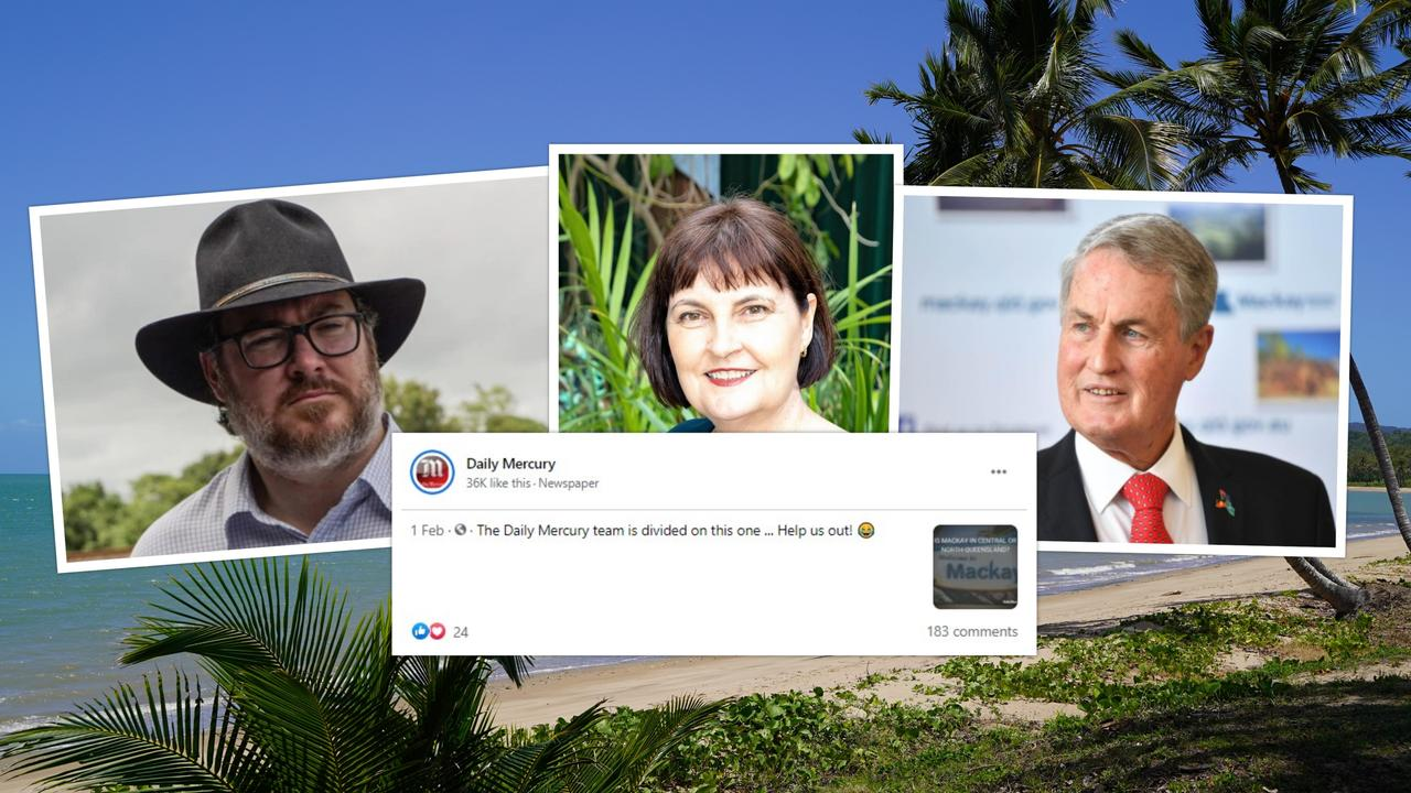 Dawson MP George Christensen, Mackay MP Julieanne Gilbert and Mackay Mayor Greg Williamson have weighed in on the debate over whether Mackay is in North or Central Queensland.