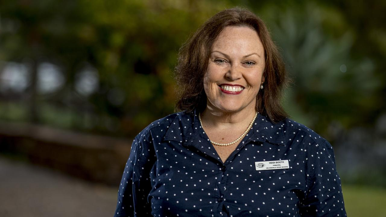 Helensvale State School Principal Heidi Booth. Picture: Jerad Williams