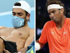 Nadal accidentally exposes star's sad news