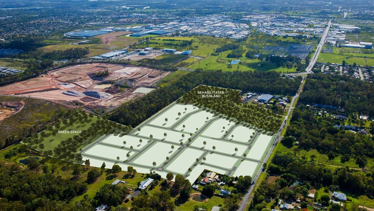 Ausbuild Warner Road Development proposed footprint.