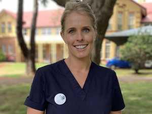 Homegrown hero starts her healthcare journey in Kingaroy
