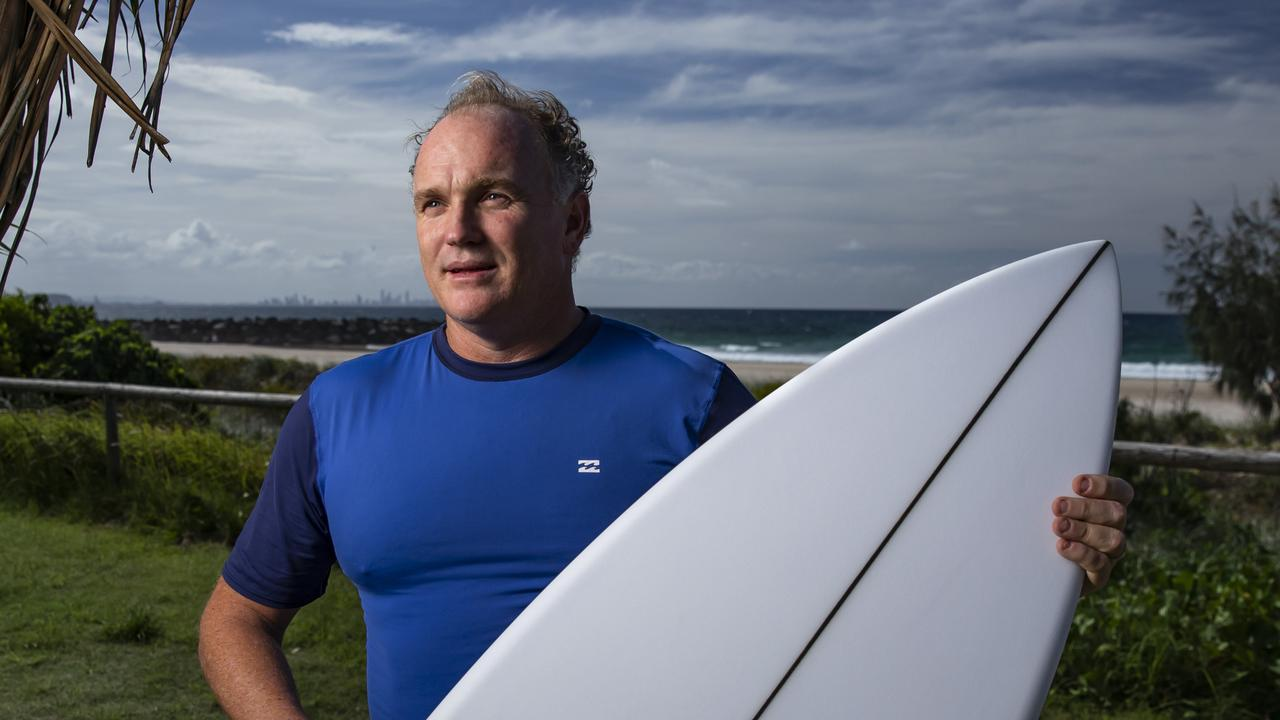 World Surf League Asia Pacific boss Andrew Stark. Picture: Mark Cranitch.