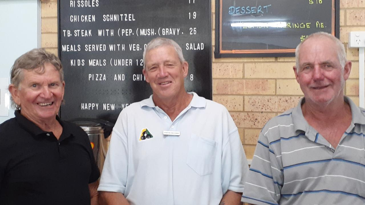 Cooloola Coast Bowls Terry Stefan and Graham
