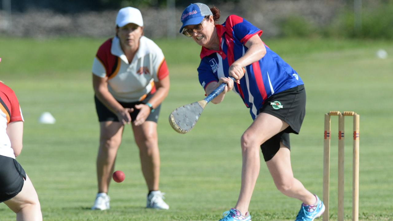 Sports batter Tracey Scudds is happy her team's batting is keeping her side well placed for a finals charge. Picture: Rob Williams