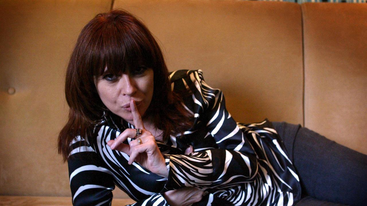 Divinyls singer Chrissy Amphlett.