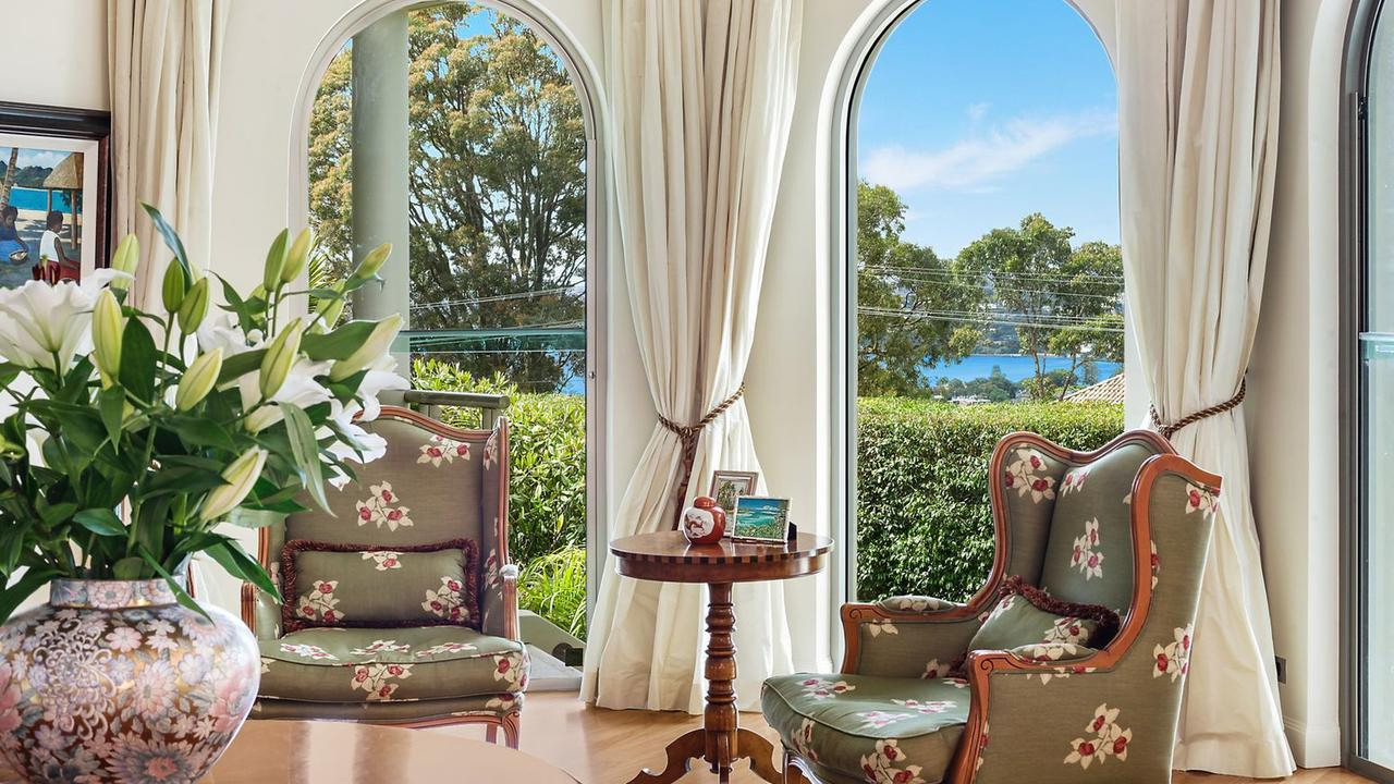 Harbour views from 144 Victoria Road, Bellevue Hill.