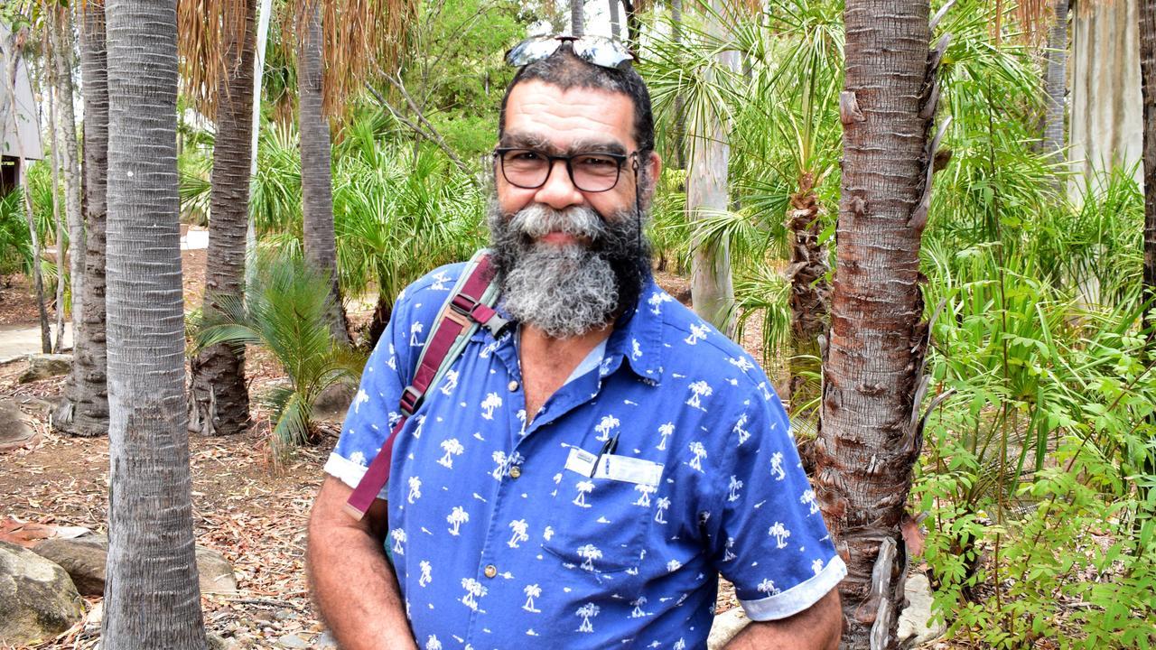 Woppaburra elder Bob Muir.