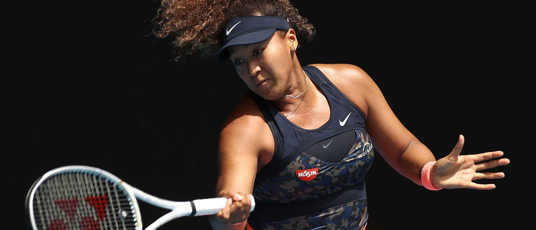 Naomi Osaka said if she was playing a tennis video game, she'd pick Su-Wei Hsieh as her character. She might be better picking herself.