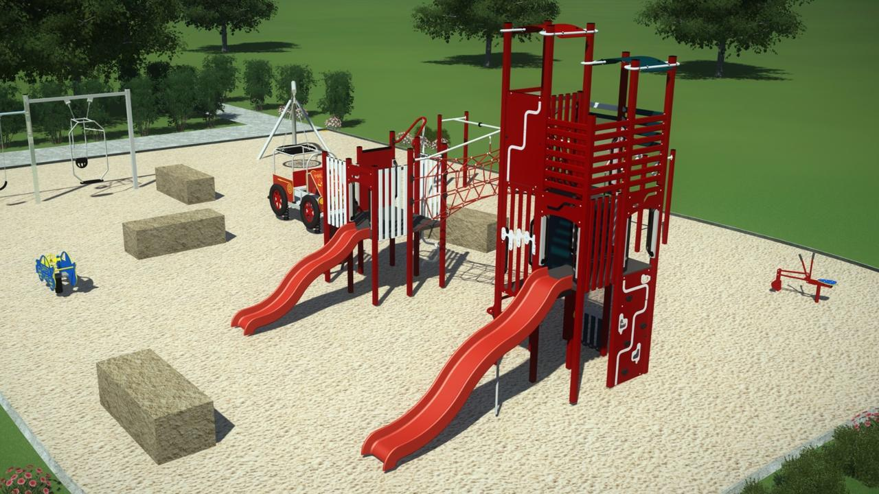 Design plans for the upgrade of equipment at Diane Street Park, Mount Pleasant. Picture: Mackay Regional Council