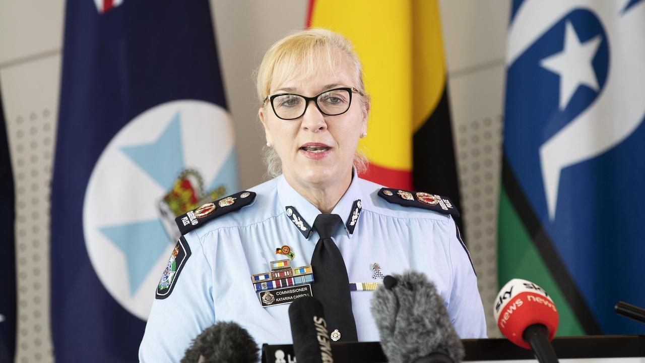 Police Commissioner Katarina Carroll. (News Corp/Attila Csaszar)