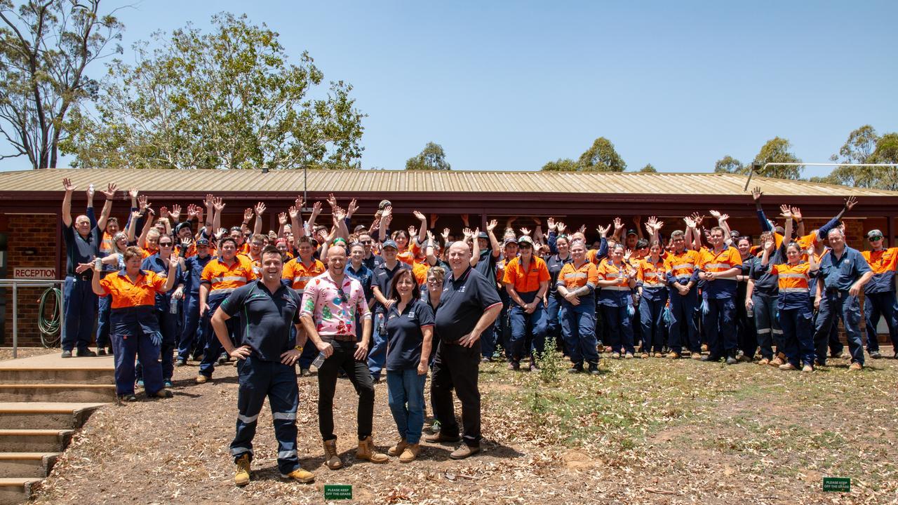 Dyno Nobel's Heldion team. Photo: Dominic Elsome.