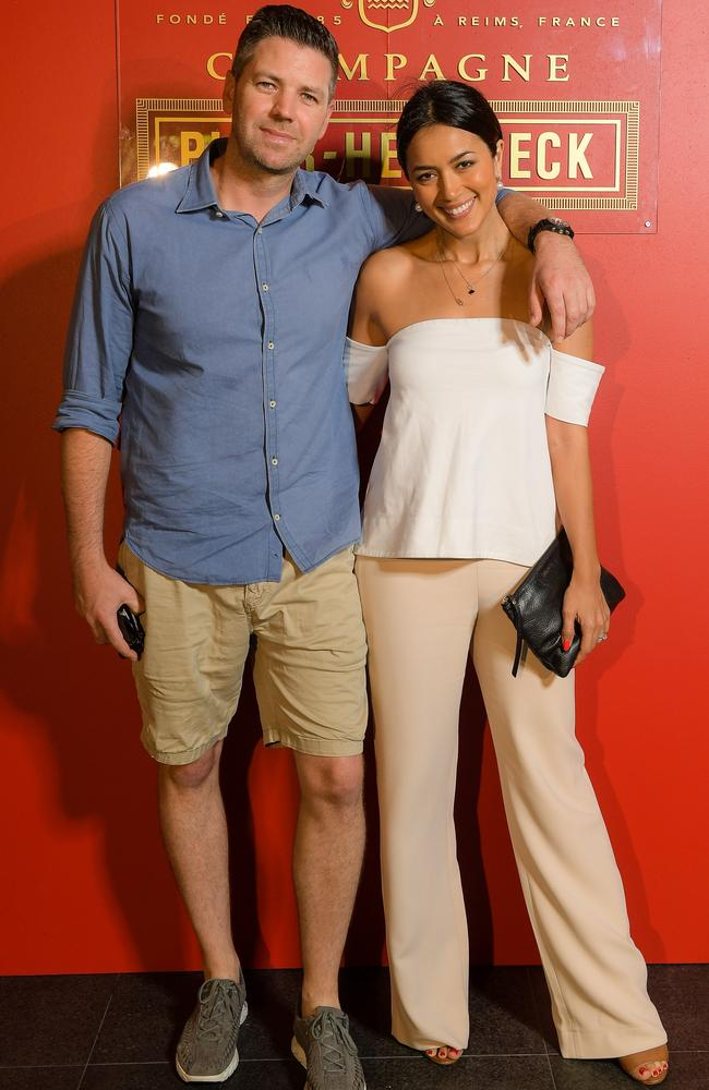 Simon Chalmers and Bianca Cheah. Picture: Supplied