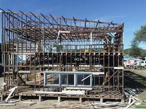 PHOTOS: Woolgoolga SLSC clubhouse demolition