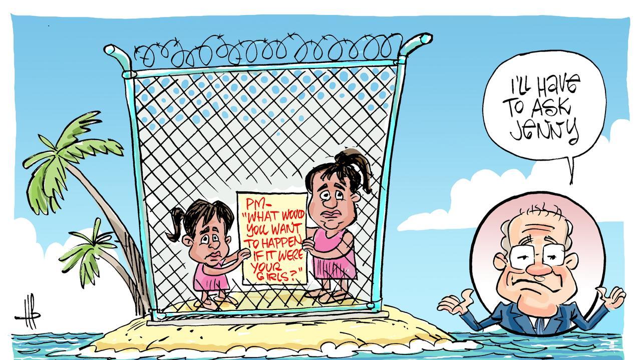 Harry's view on the Biloela Tamil family.
