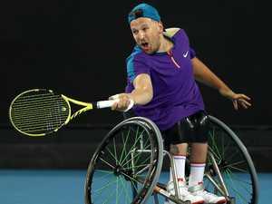 Fans slam wheelchair champ's cruel snub