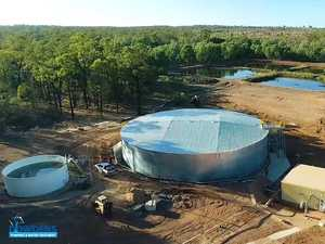 VIDEO: New reservoir boosts CQ town's water security