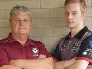 Father and son to face off in 'CQ first' exhibition match