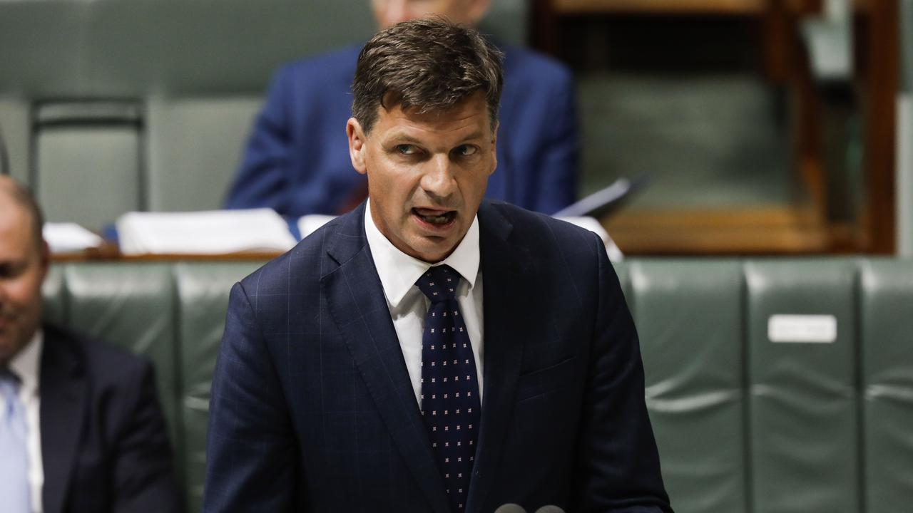 Energy Minister Angus Taylor says there are other programs available to support coal projects. Picture: Sean Davey.