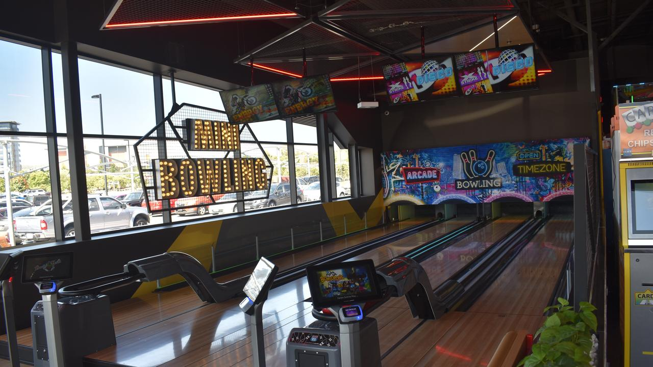 A mini bowling will be opened at the Rockhampton store, similar to the Springfield one.