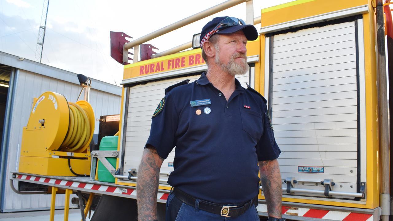 Weranga Rural Fire Brigade First officer John Ruddiman. Pic: Peta McEachern