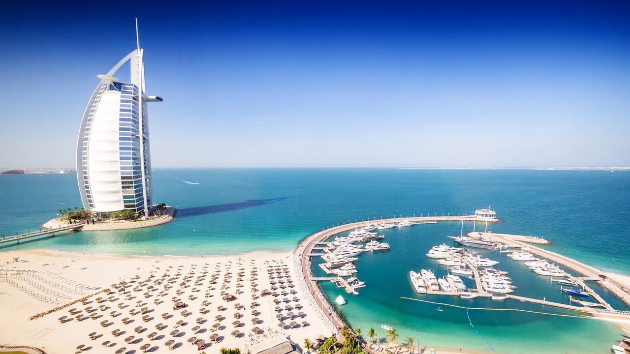Burj al Arab hotel, Dubai. Picture: iStock