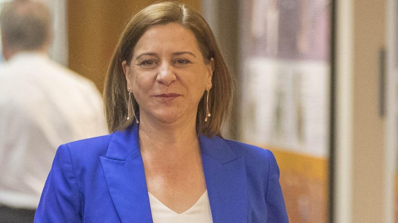 Opposition spokeswoman for water Deb Frecklington. Picture: Peter Wallis