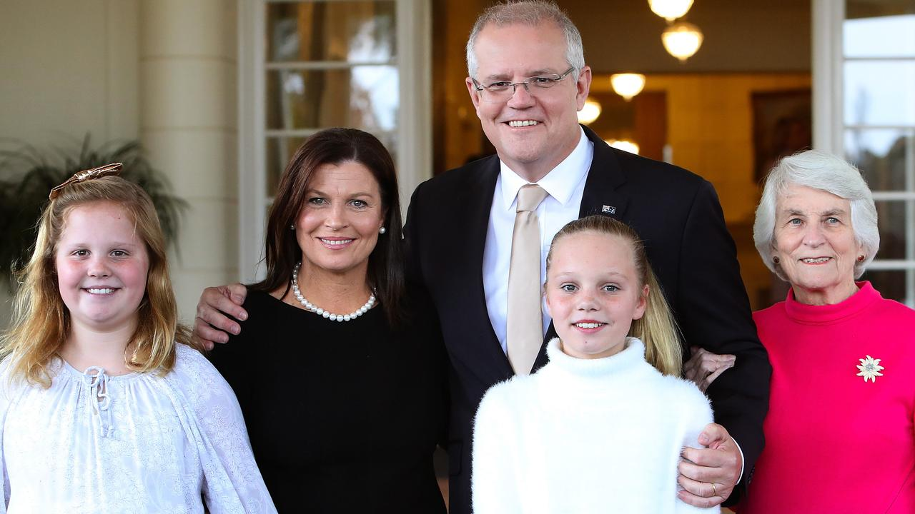 Why did Scott Morrison have to think of his daughters before he listened to what alleged Parliament House rape victim Brittany Higgins has to say? Picture Kym Smith