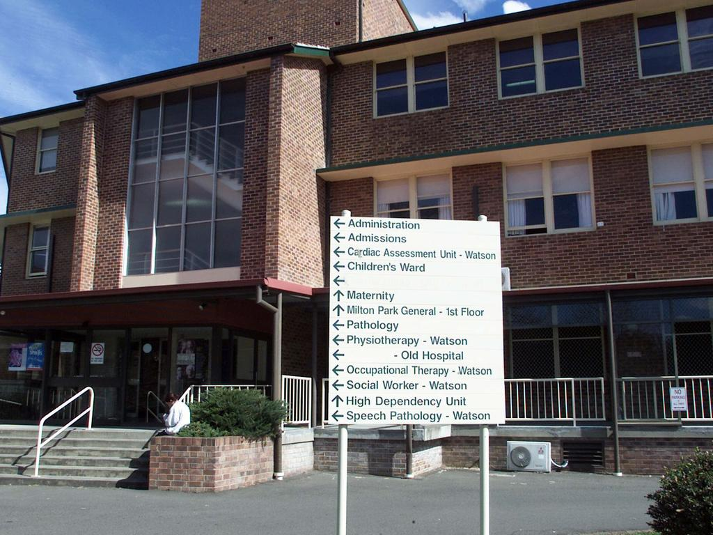 Bowral and District Hospital.