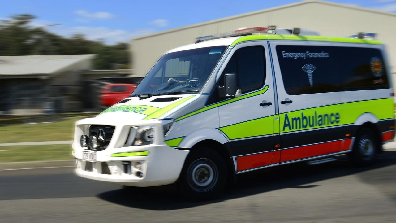 One person has been taken to hospital after a motorbike crash. Photo: File