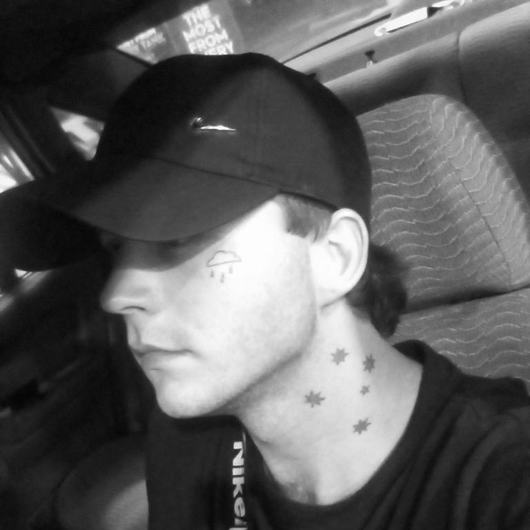 Jack Clarence Smith, 22, is accused of stabbing a police officer at Cairns Central shopping centre. Picture: Facebook